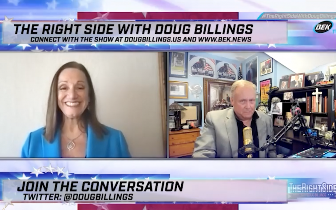 Full Maria Zack interview on the Right Side with Doug Billings