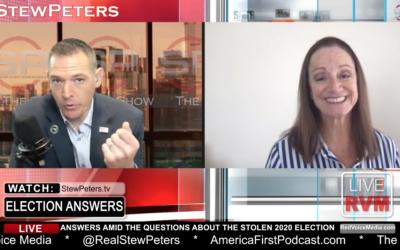 Stew Peters interviews Maria Strollo Zack on RVM