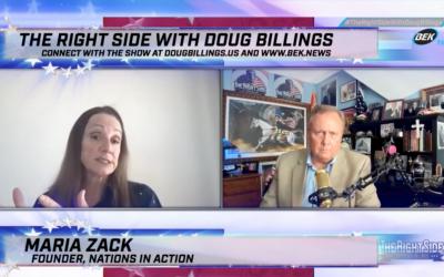 Doug Billings' exclusive interview with Maria Strollo Zack