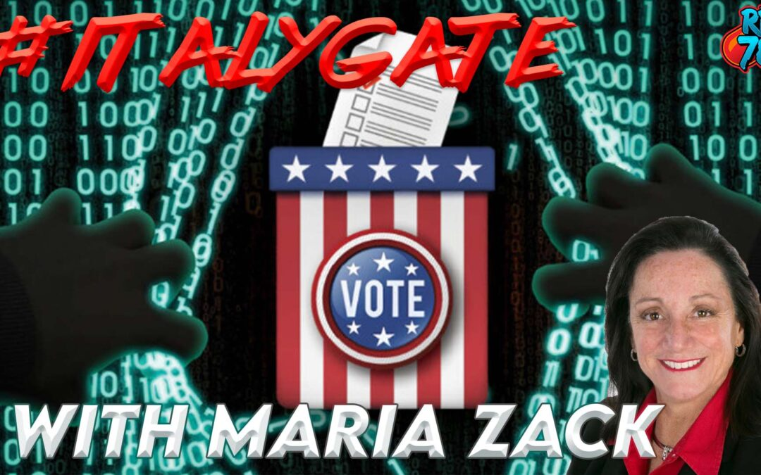 ItalyGate exposed with Maria Zack and Zak Paine on Red Pill News Podcast