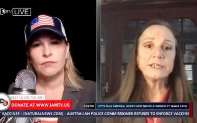 Maria Zack joins Michele Swinick on Let's Talk America