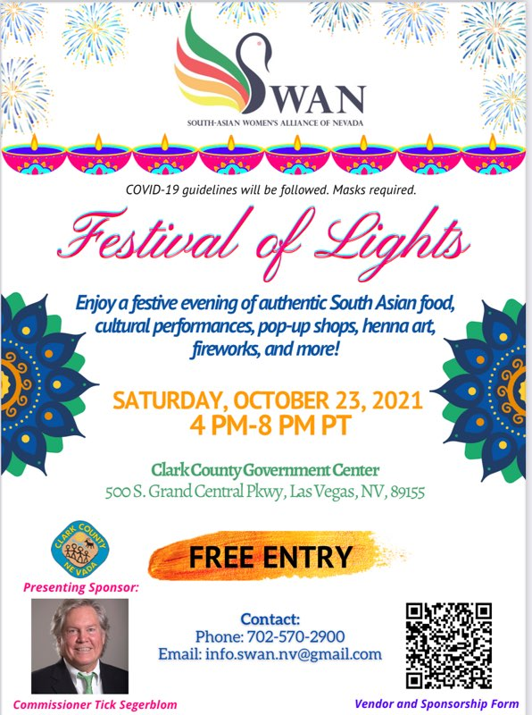 Festival of Lights This Saturday, October 23, 2021 (Free Entry)