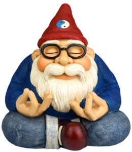 This Large Garden Gnome delivers Smile and Serenity to your Home, Garden or Zen Garden