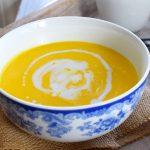 Creamy Thai-Spiced Kabocha Squash Soup