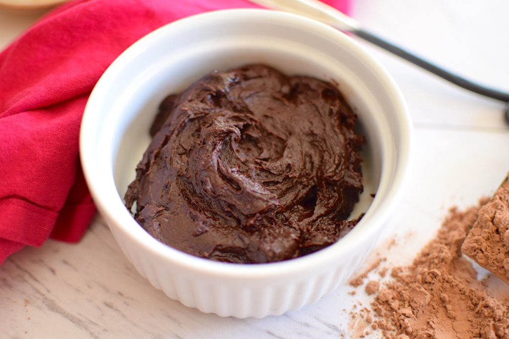 3 Ingredient Vegan Chocolate Frosting