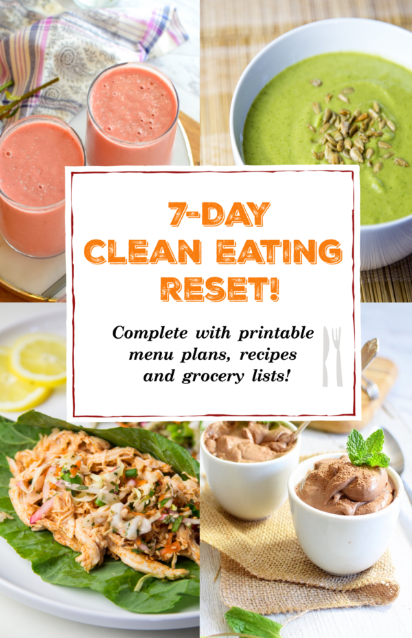 7 day clean eating reset