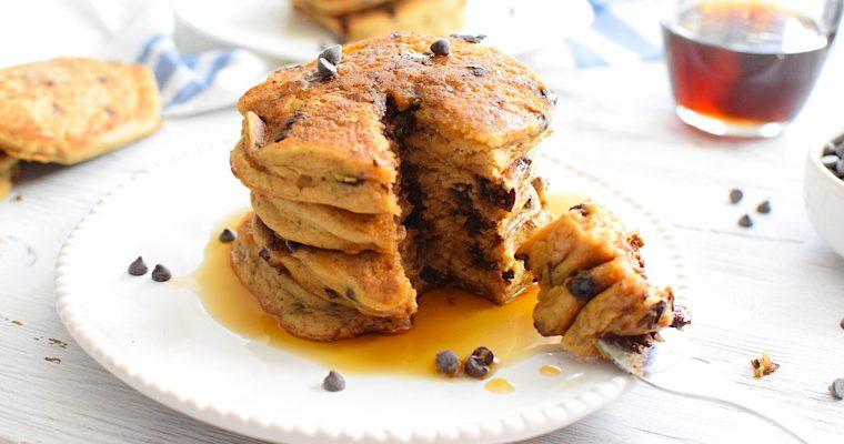 Gluten Free Chocolate Chip Pancake Recipe