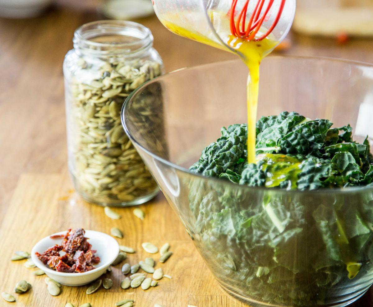 Marinated Kale Salad Recipe   Anti Candida