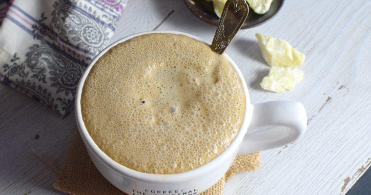 Healthy Chocolate Salted Latte – No Espresso Machine Needed!