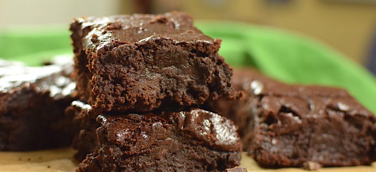 Gluten Free Fudgy brownie Recipe – Refined Sugar Free