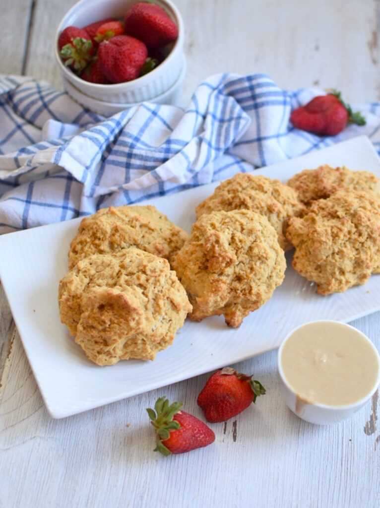 Gluten-Free Vanilla Scones