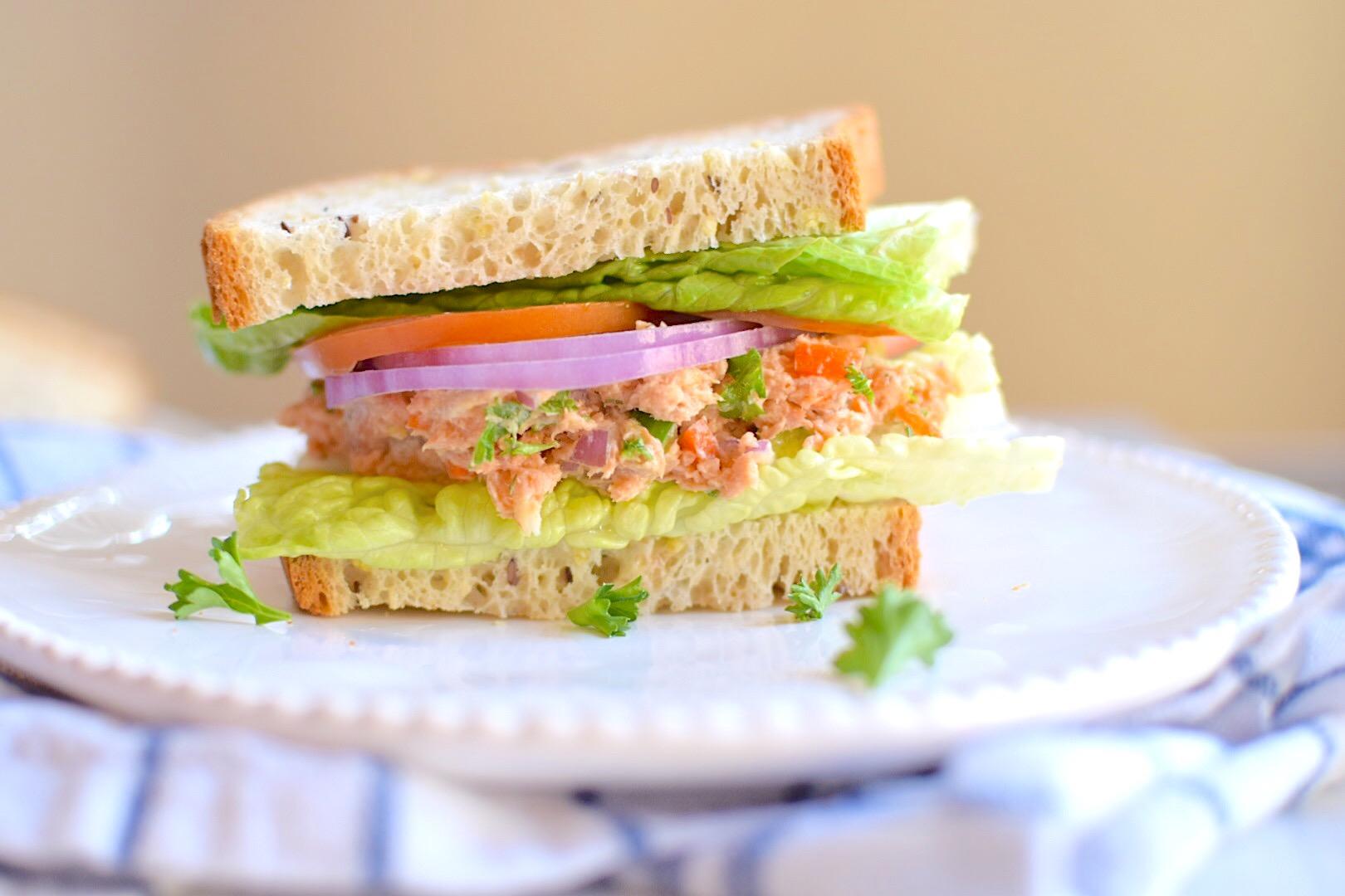 Healthy Salmon Salad