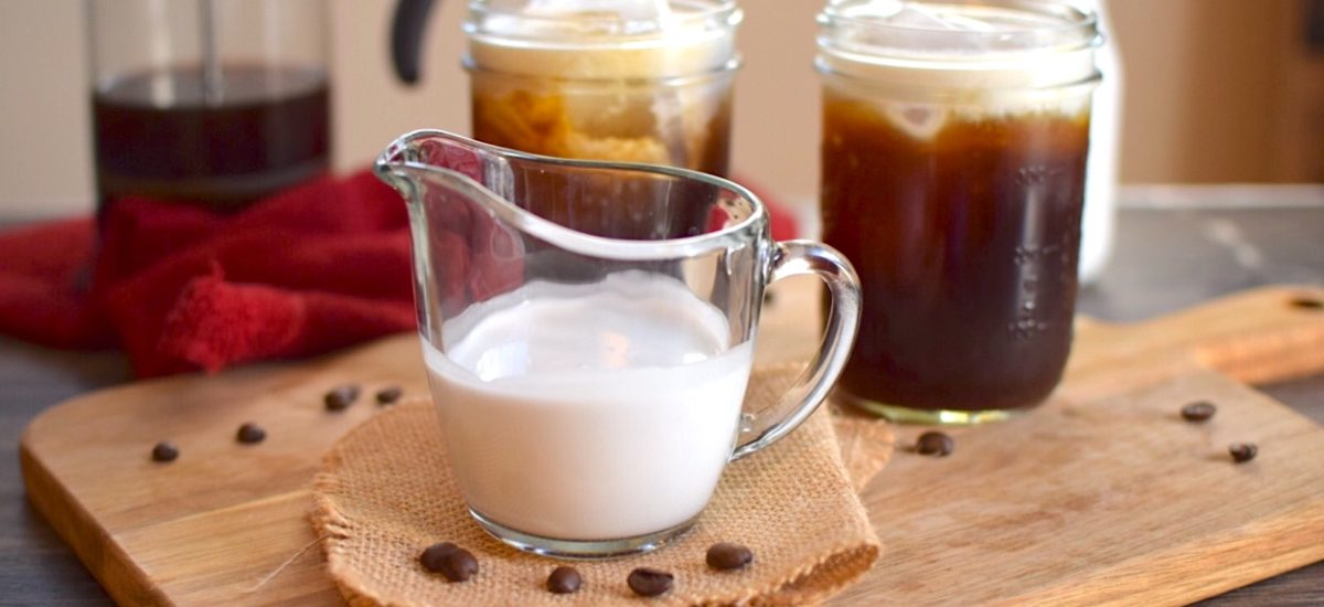 Easy Vegan and Sugar Free Creamer