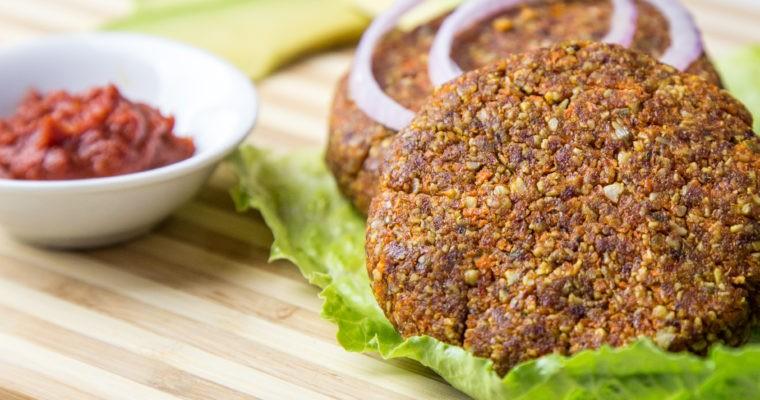 Grain Free Vegan Burgers