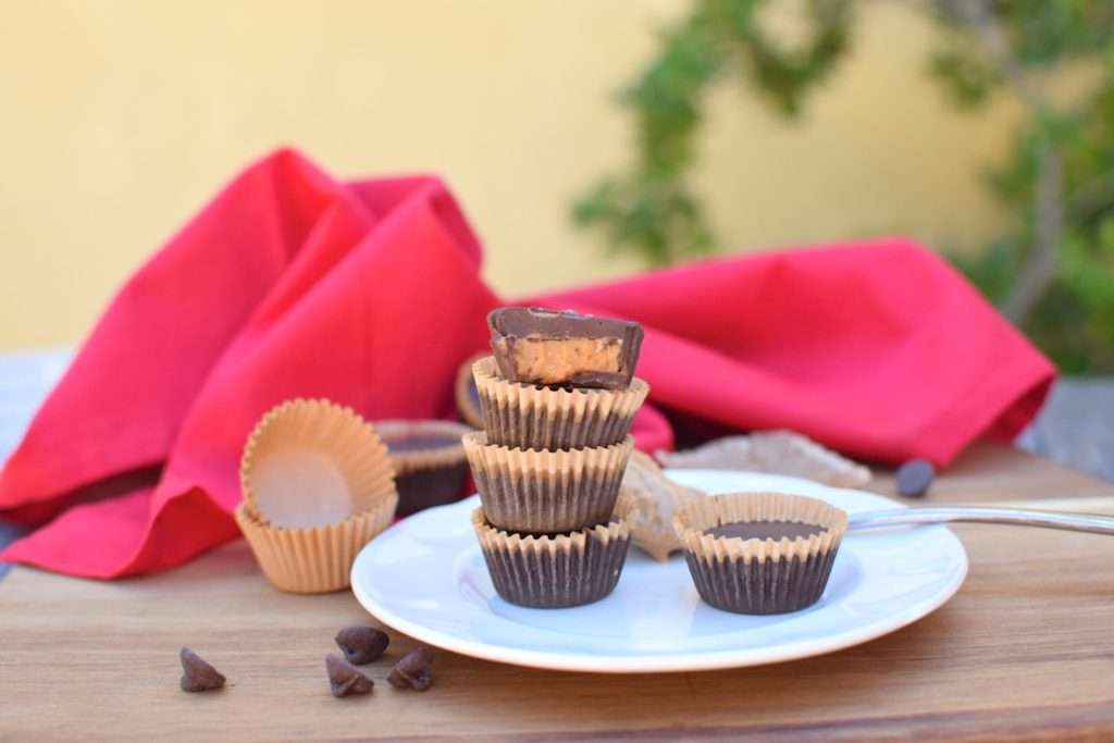 Healthy Homemade Cashew Butter Cups