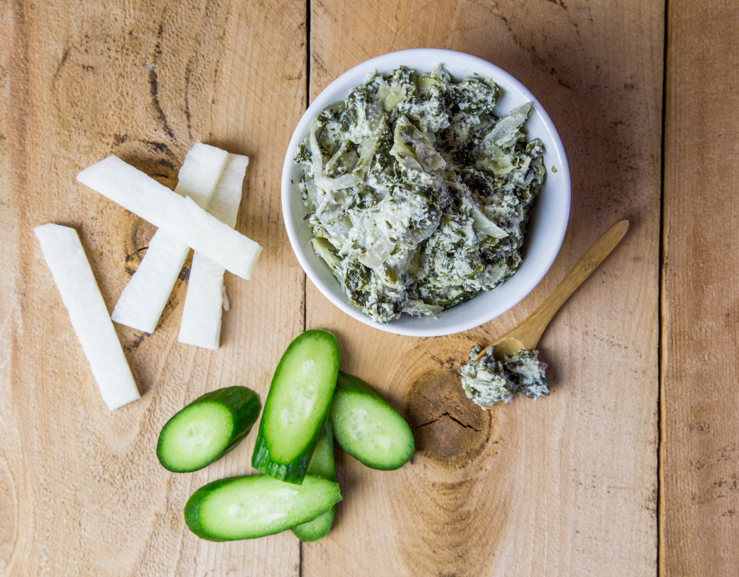 Candida Diet Spinach Dip