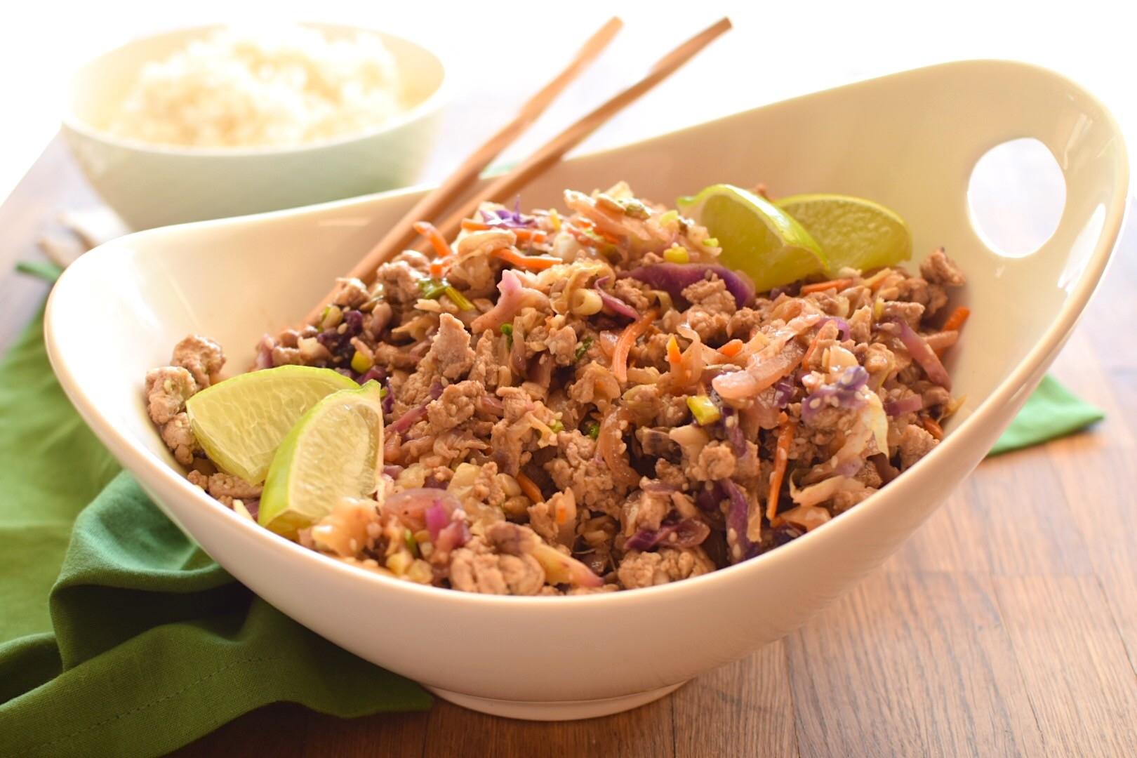 Turkey Cabbage Sauté – Candida Diet