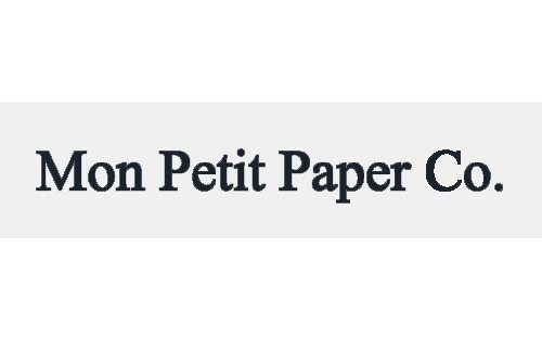 Mon Petit Paper Co. | Local Printing and Paper Goods