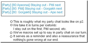 party chat trimmed