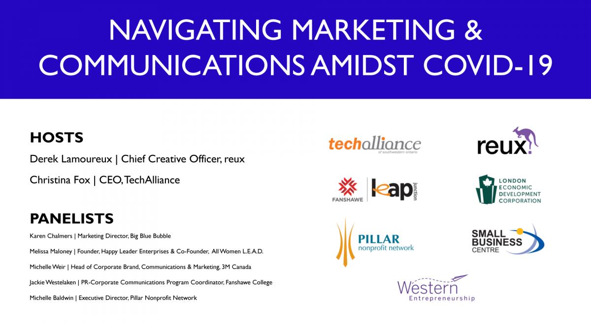 Navigating Marketing & Communications Amidst COVID-19