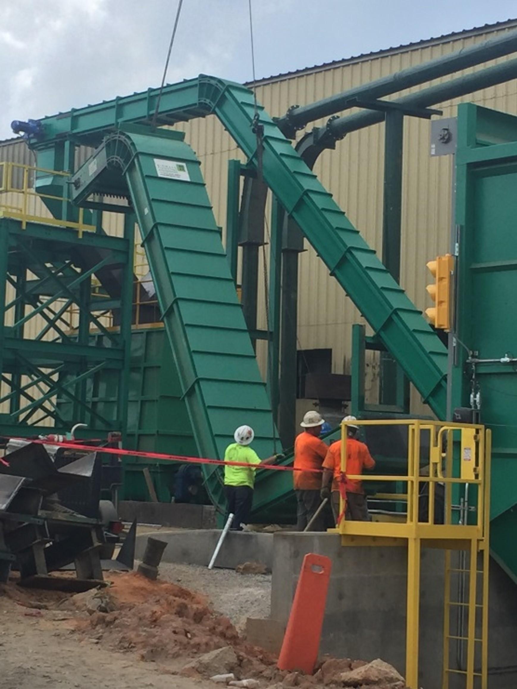Fuel Conveyor Installation