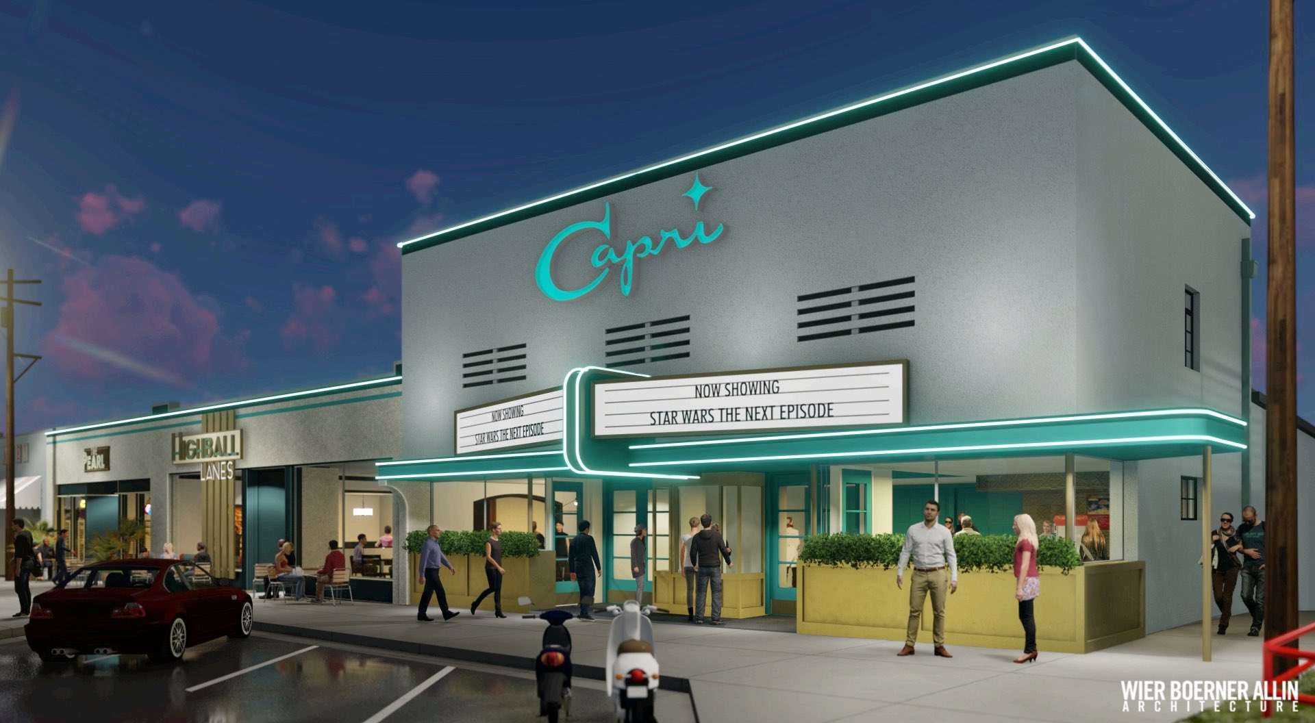 $13 Million Project Bringing Theater, Bowling Alley, Restaurants to Fondren