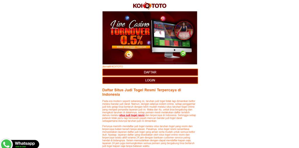 Situs Togel Anti Phising Menyediakan Keuntungan Jutaan Rupiah
