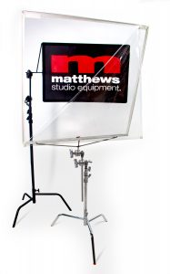 """Matthews 40""""x40"""" Matthsheld Floppy offers a clear protection from both sides"""