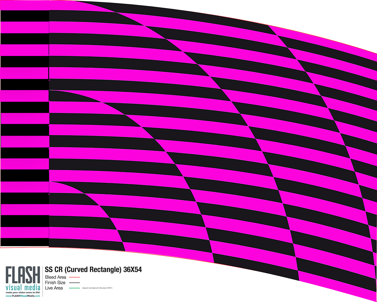 36x54 In-Stock Flags For Marching Band & Color Guard