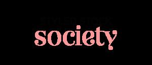 Styled Stock Society feminine stock photos logo.