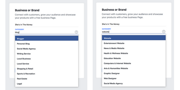 How to create a Facebook page for your blog.