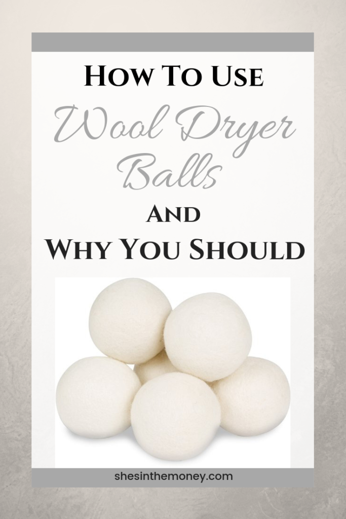 How to use wool dryer balls and why you should.