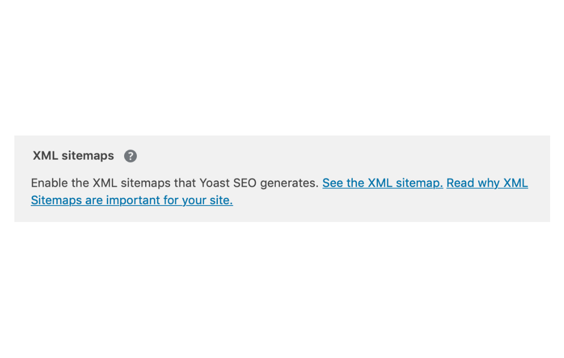 Find the url of your sitemap with the Yoast plugin.