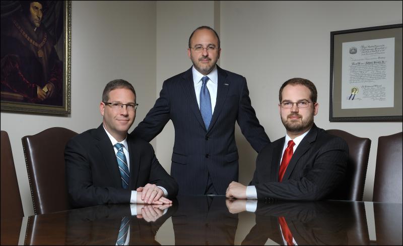 L-R Adam Glatt, Anthony Pirrotti Jr., Ben Babcock