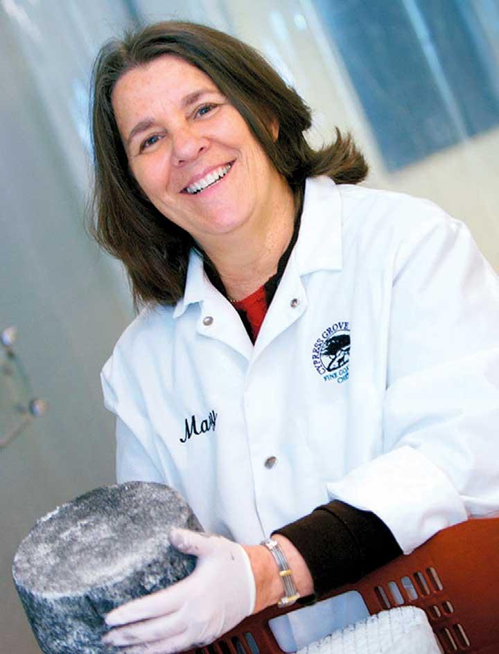 Mary Keehn of Cypress Grove Chevre