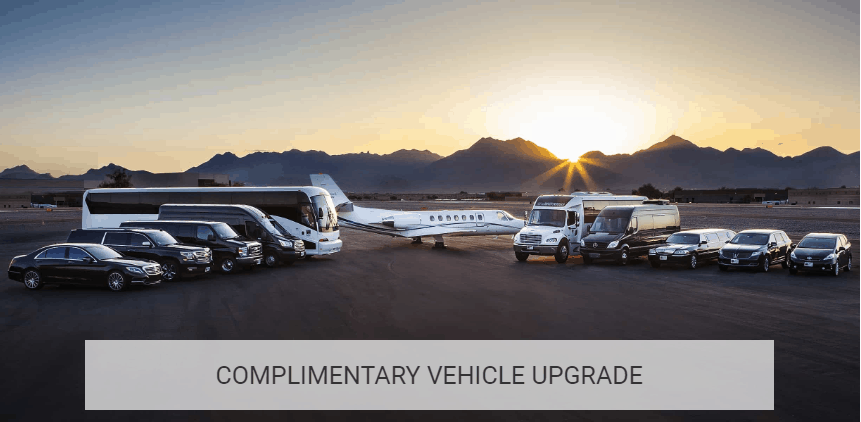 COMPLIMENTARY VEHICLE UPGRADE