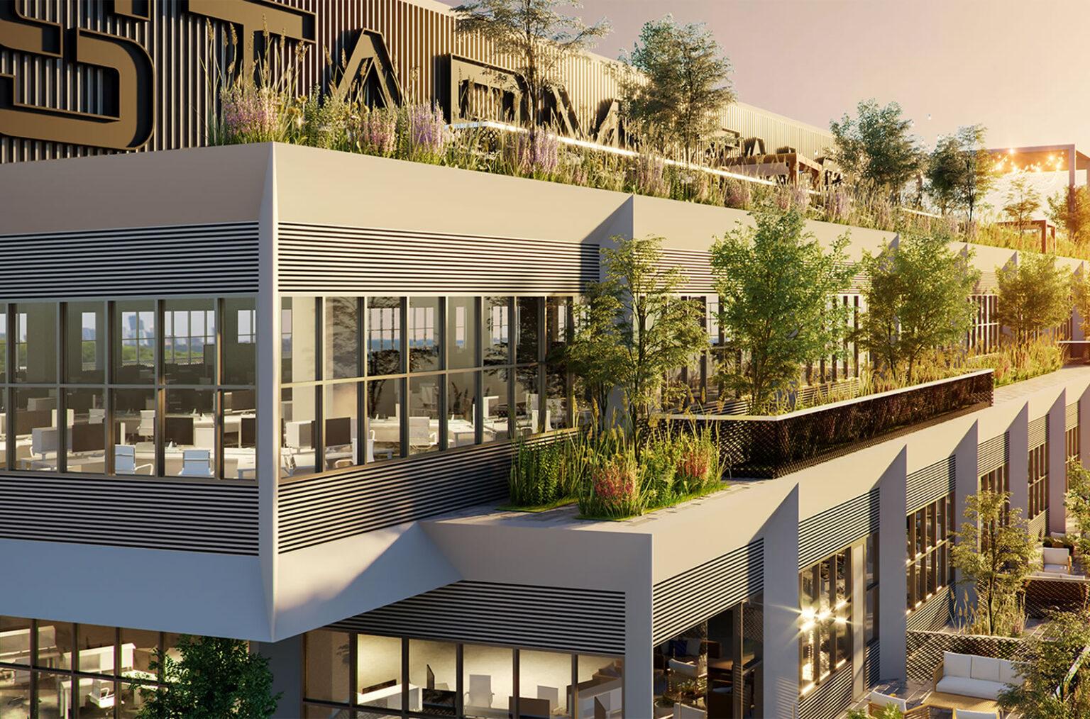 green roof design atlanta georgia