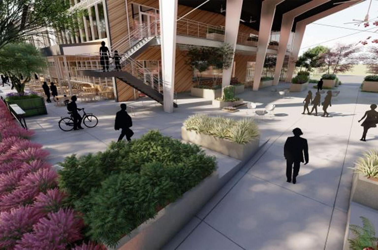 outdoor plaza design atlanta