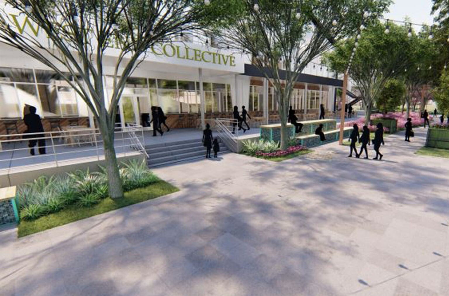 outdoor plaza designers