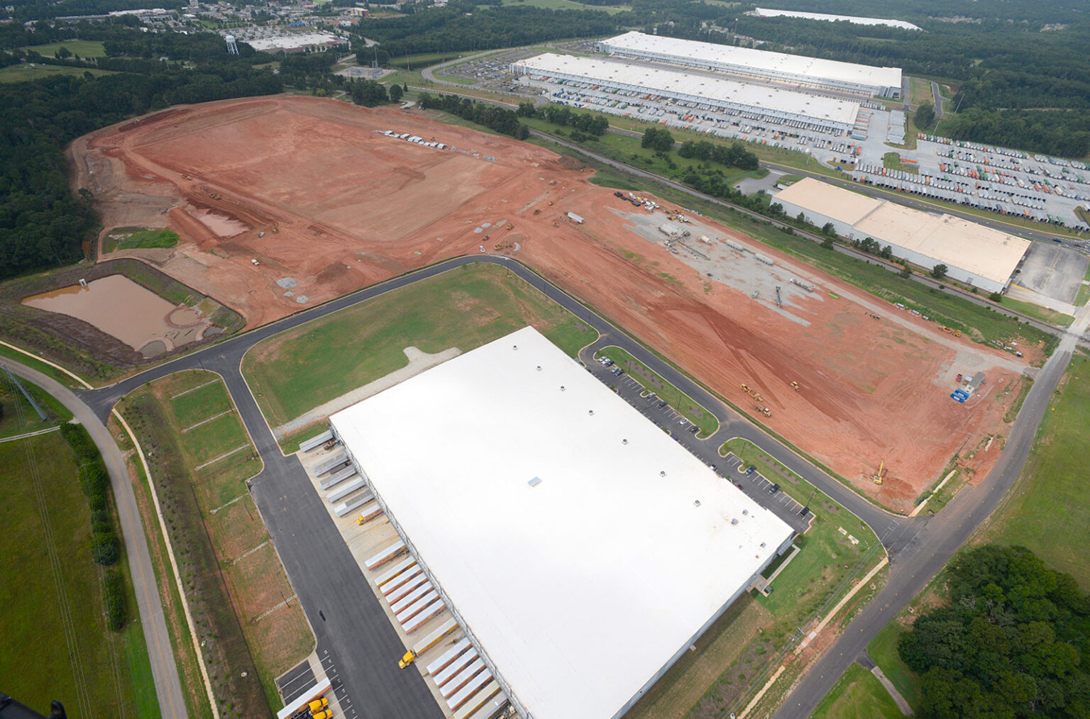 Gardner Logistics Park reaches full build-out in four years