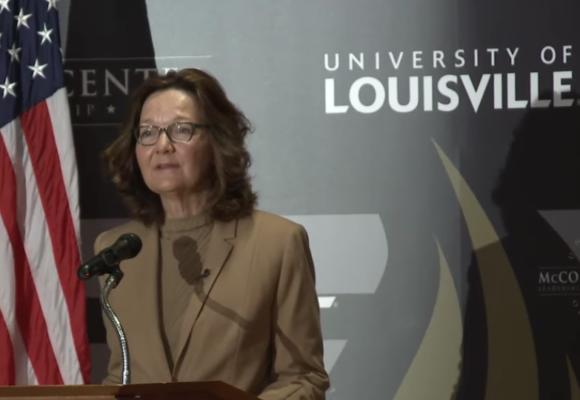 Gina Haspel's First Speech as CIA Director