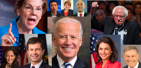 2020 Democrats Face the Challenge of 'The Blob'
