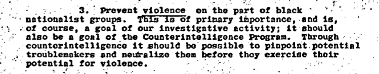 COINTELPRO-neutralize them