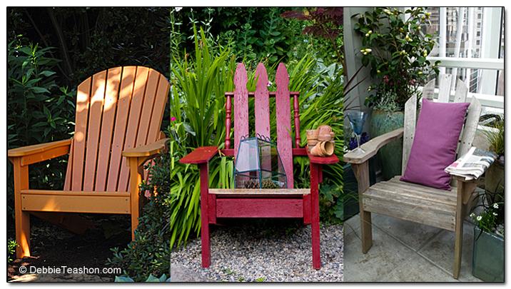 Adirondack chair sampler