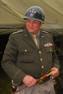 General Patton as portrayed by Denny Hair
