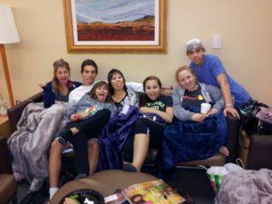 Tongues at Tumors Snyder kids and GMA