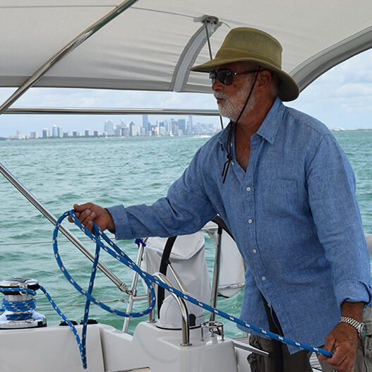ready to tack in a sailing charter tour