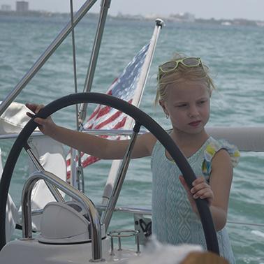 children love sailing tours