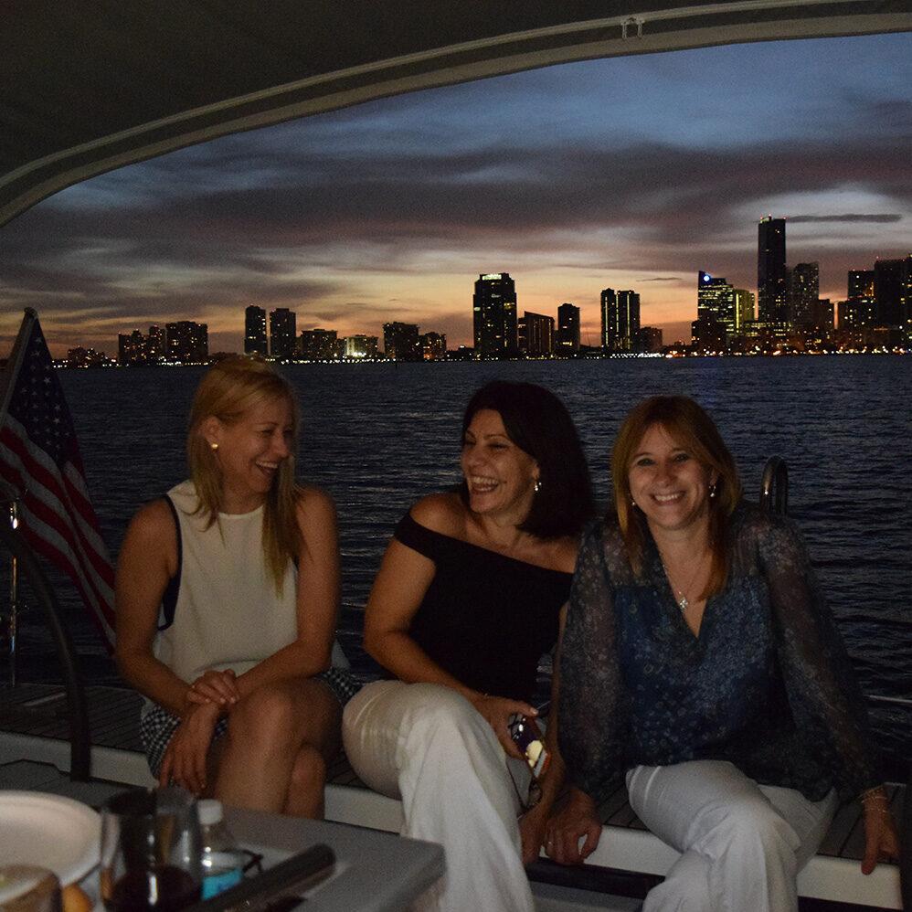Sailing Sunset Miami Downtown