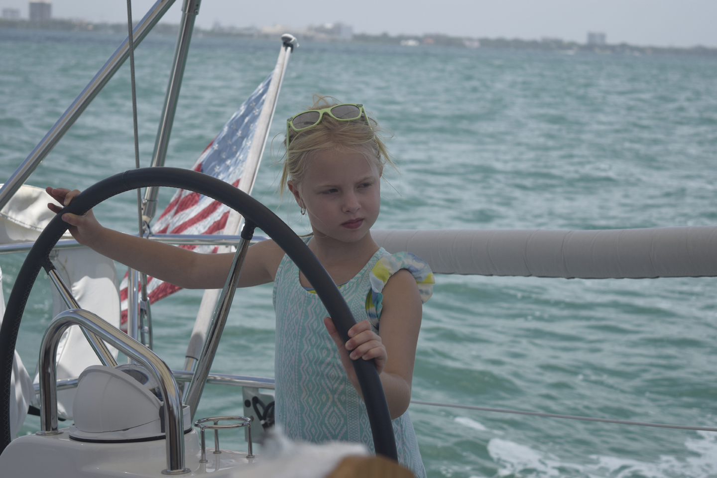 Sailing with kids in sailing tours